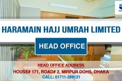 Dhaka Head Office - Haramain Hajj Umrah Limited